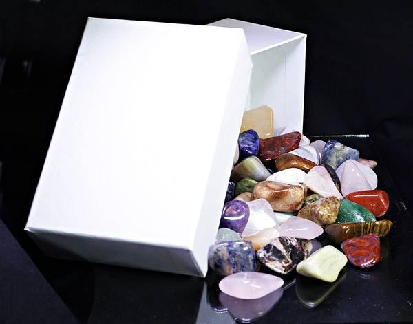 Bilde av Afrikansk steinblanding, med gaveeske 750 gram