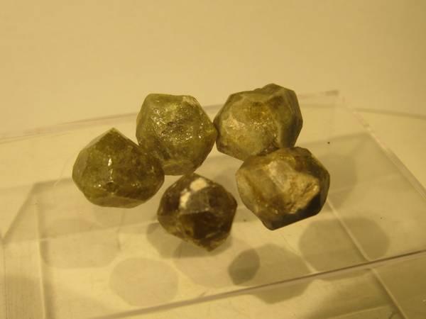 Bilde av Grossular-krystall, Sibir