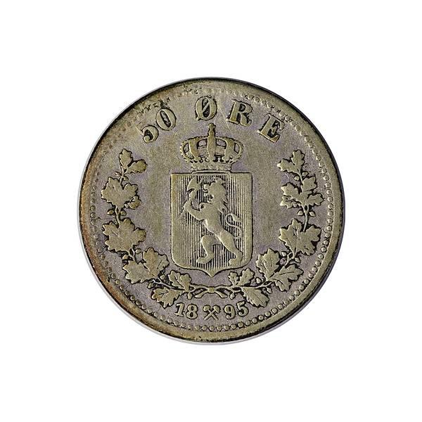 Bilde av 50 øre 1895