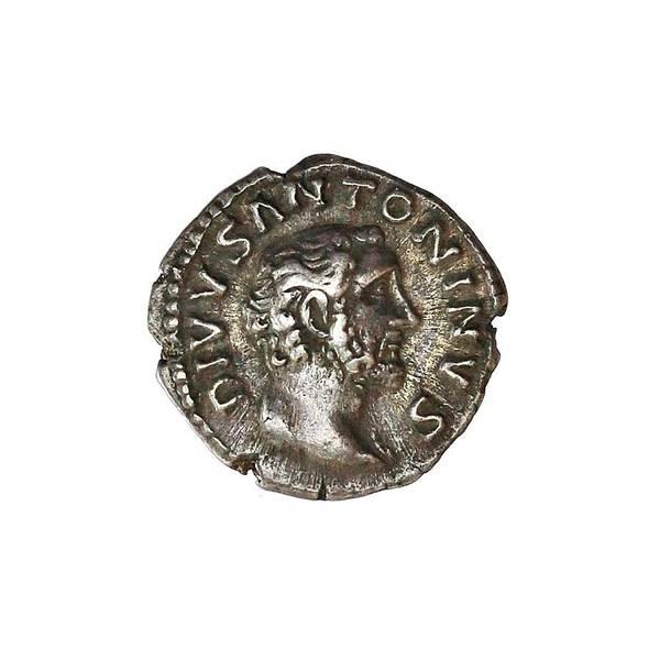 Bilde av Antoninus Pius Denar 138-161 Begravelsesbål