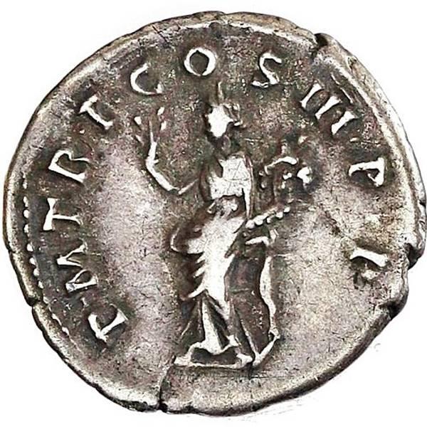 Bilde av Trajan Denar 98-117 Pax