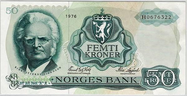 Bilde av 50 kroner 1976 H