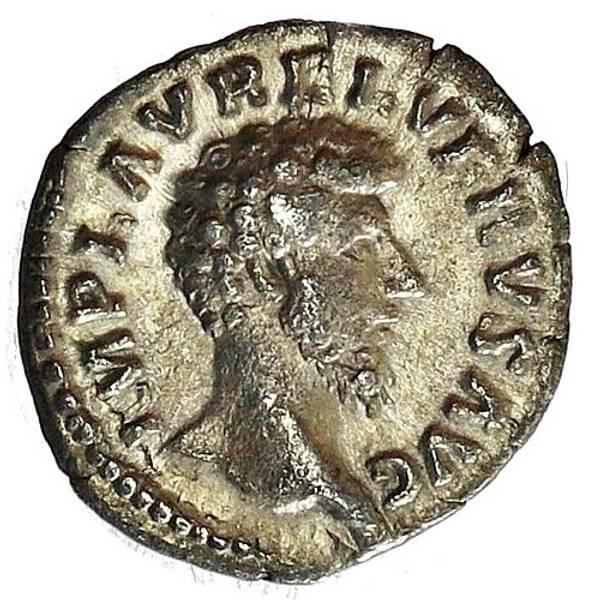 Bilde av Lucius Verus Denar 161-169