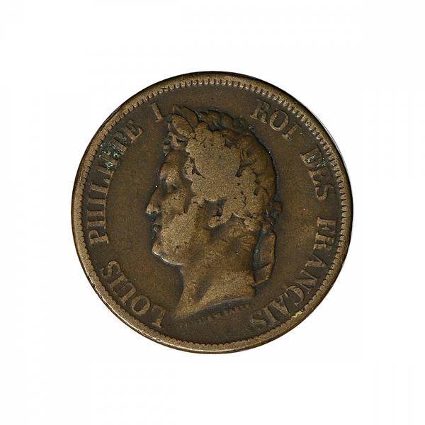 Bilde av Franske kolonier 10 cent 1839