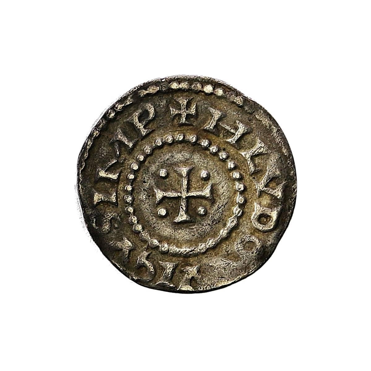Karolingerne Ludvig den fromme Denar 814-840