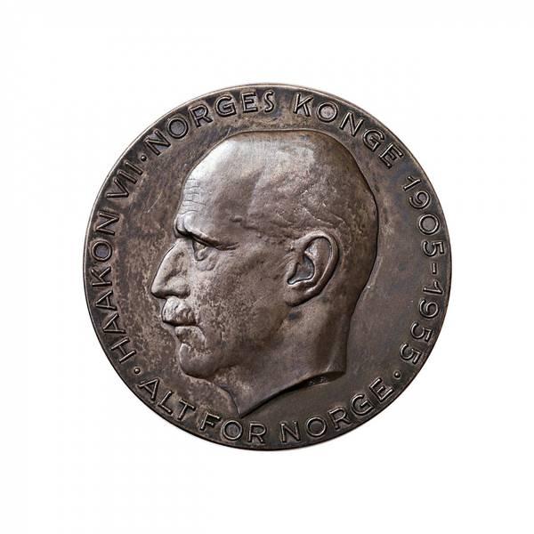 Bilde av Haakon VIIs 50-årsjubileum 1955