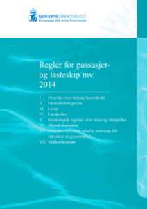 Bilde av Regler for passasjer- og lasteskip - 2017