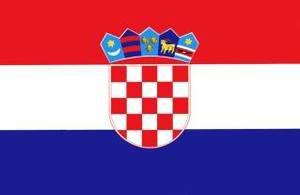 Bilde av Gjesteflagg Kroatia 30cm