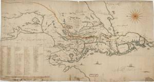 Bilde av Kart over Smaalenenes Amt med Bahus Len samt Dele af Akershus og