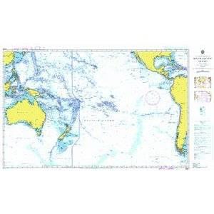 Bilde av A Planning Chart for the South Pacific Ocean