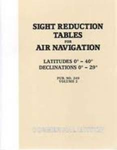 Bilde av Sight Reduction Tables for Air Navigation 0 - 40 grader