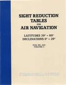 Bilde av Sight Reduction Tables For Air Navigation 39 - 89 grader