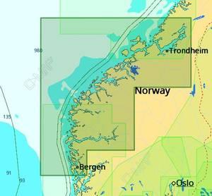 Bilde av C-Map Reveal / Discover - Local: Bergen til Brandsfjorden