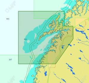Bilde av C-Map Reveal / Discover - Local: Melfjorden til Narvik og Lofote