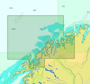 Bilde av C-Map Reveal / Discover - Local: Lavangsfjorden til Bukta