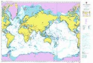 Bilde av World Map - Admiralty