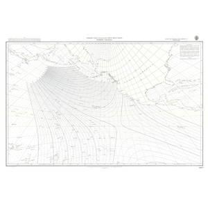 Bilde av North Pacific - Storsirkelkart