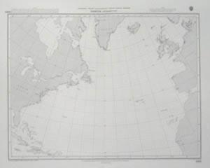 Bilde av North Atlantic - Storsirkelkart