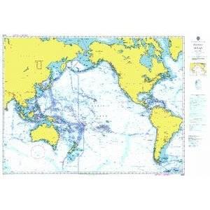 Bilde av A Planning Chart for the Pacific Ocean