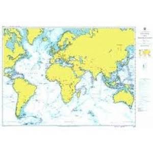 Bilde av A Planning Chart for the Atlantic and Indian Oceans