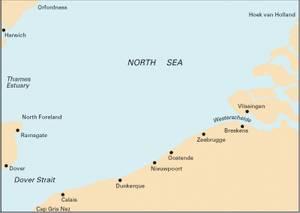 Bilde av C30: Harwich and North Foreland to Hoek Van Holland and Dover St