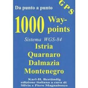 Bilde av 1000 Waypoints; Istria, Quarnaro, Dalmazia, Montenegro