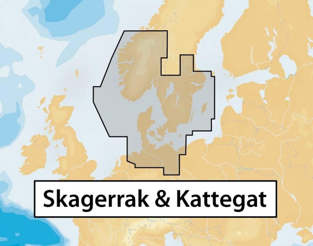 Navionics + 45XG: Skagerrak og Kattegat