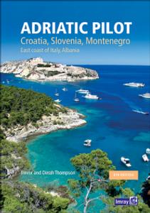 Bilde av Adriatic Pilot - Croatia, Slovenia, Montenegro, East Coast of It