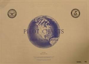 Bilde av Pilot Chart Atlas - North Pacific Ocean