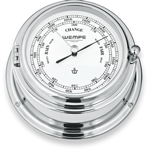 Bilde av Wempe Bremen II: Barometer - chrome