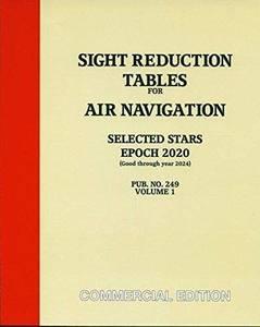 Bilde av Sight Reduction Tables Selected Stars (2020)