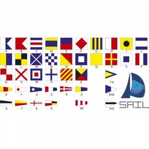 Bilde av Klistremerke signalflagg