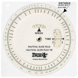 Bilde av Nautical slide rule