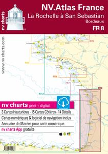 Bilde av FR8 - NV.Charts: La Rochelle a San Sebastian