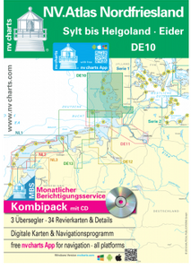 Bilde av DE10 - NV.Atlas Nordfriesland - Sylt bis Helgoland & Eider