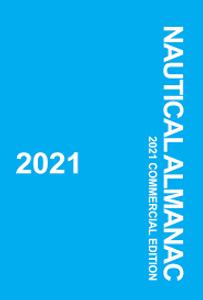Bilde av Nautical Almanac 2021 - Nautisk Almanakk