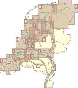 Bilde av ANWB H, Netherlands Waterway Maps