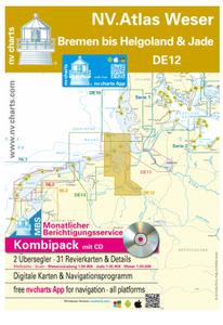 Bilde av DE12 - NV.Atlas Weser - Bremen bis Helgoland & Jade