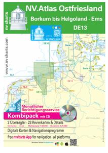 Bilde av DE13 - NV.Atlas: Weser -  Ostfriesland - Borkum bis Helgoland &