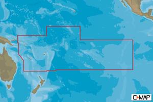 Bilde av C-Map Max Wide: South Pacific Islands