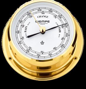 Bilde av Wempe Skiff: Barometer - messing