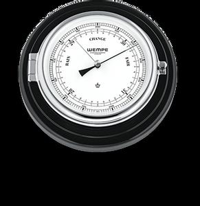 Bilde av Wempe Skipper: Barometer chrome- plate pianolakk