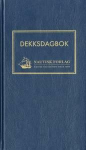 Bilde av Dekksdagbok innenriks - StormGeo (Nautisk Forlag)