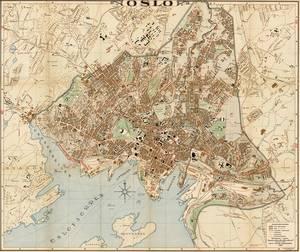 Bilde av Kart over Oslo