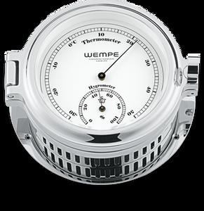 Bilde av Wempe Cup: Termo-/hygrometer - chrome