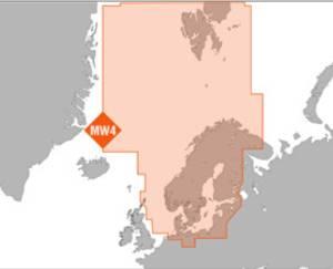 Bilde av C-Map Max MegaWide: North and Baltic Seas (MW4)
