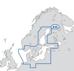 Bilde av C-Map Reveal / Discover Wide: Baltic Sea and Denmark (W85)