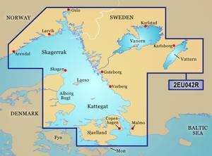 Bilde av BlueChart G3 HD: Oslo til Trelleborg (HXEU042R)