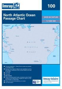 Bilde av 100: North Atlantic Ocean Passage Chart