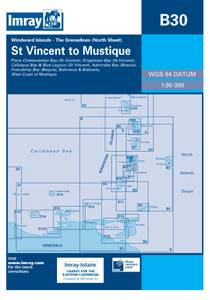 Bilde av B30: Grenadines Northern Sheet - St.Vincent To Mustique